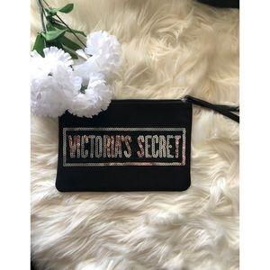 VICTORIA SECRET Black Makeup Bag